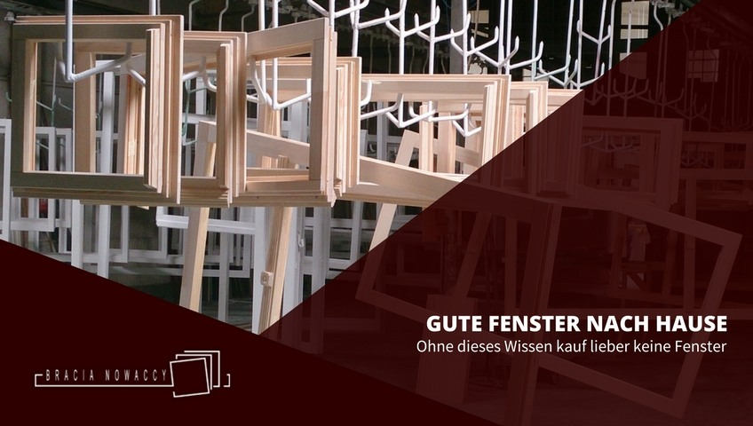 Fenster - produktion