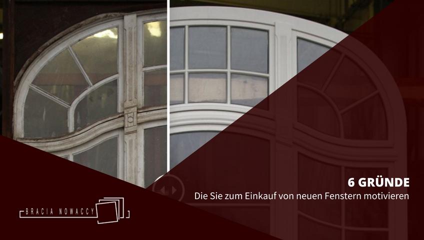 Neue Fenster für ein Haus – Vorteile